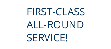 first class all round service